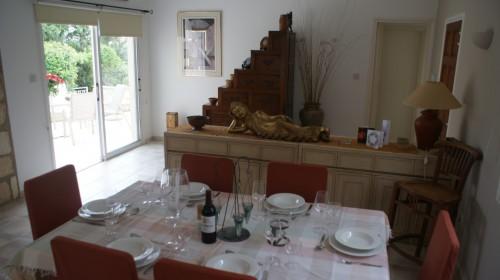 Dining Room ready for dinner
